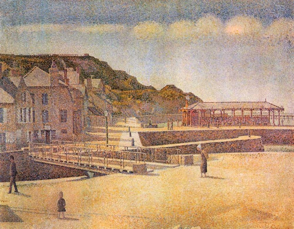 Port-En Bessin 1888 Seurat, Georges 92911
