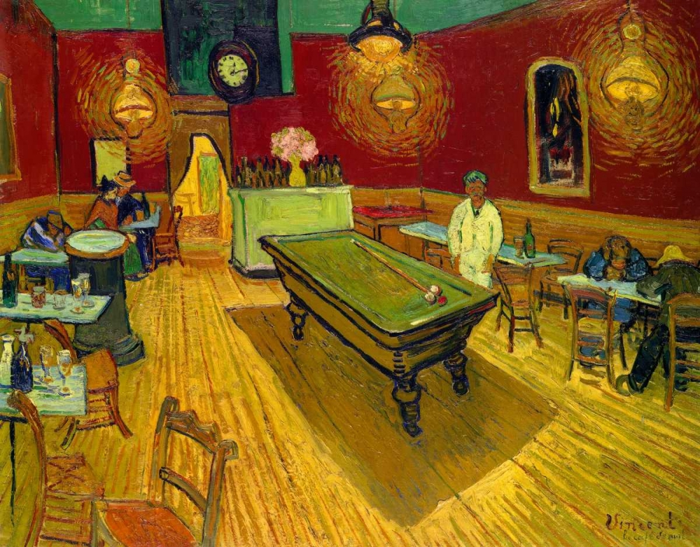 The Night Cafe, 1888 Van Gogh, Vincent 92939