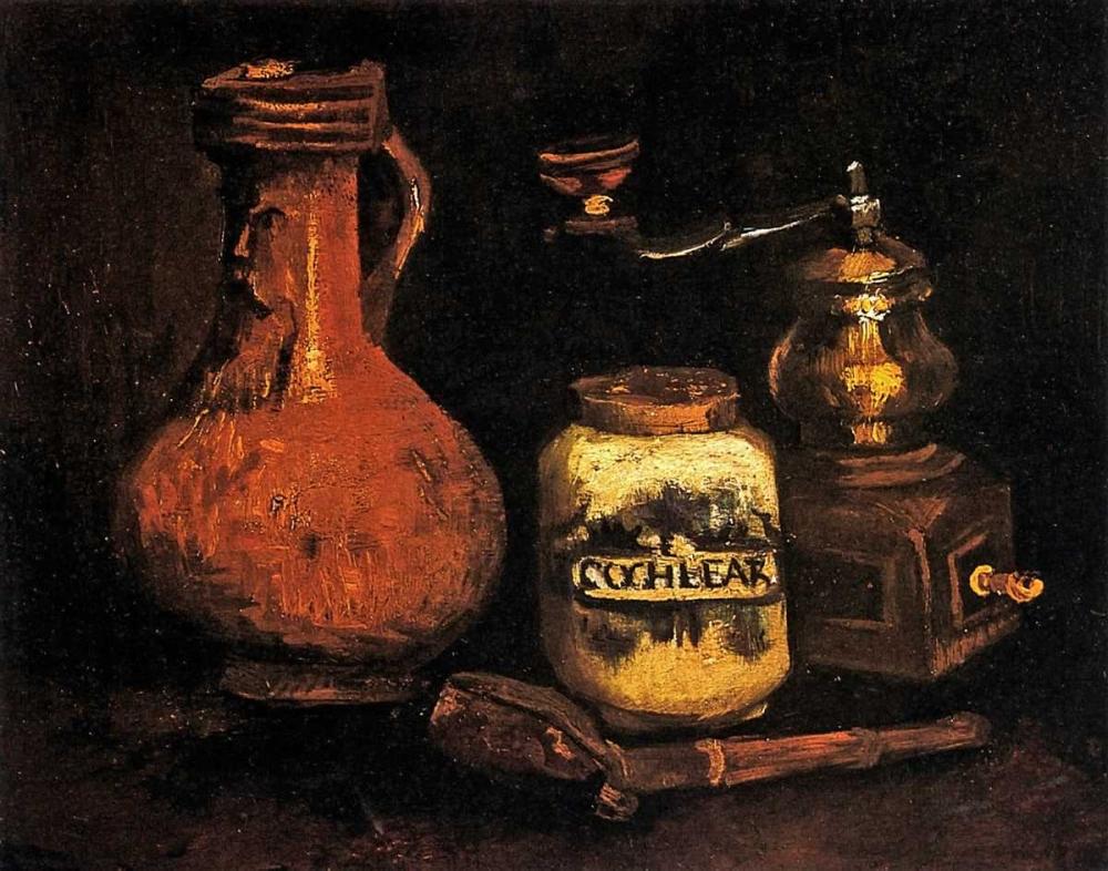 Coffee Mill Pipe Cas Jug Van Gogh, Vincent 92987