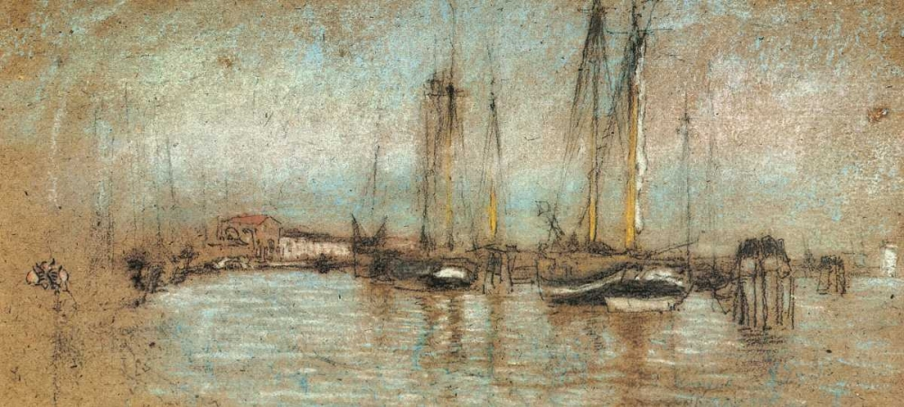 The Little Riva In Opal 1879 Whistler, James McNeill 93018