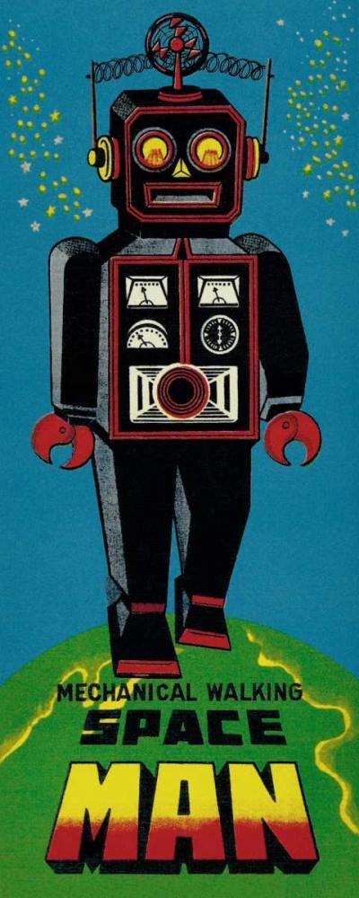 Mechanical Walking Spaceman Retrobot 96442