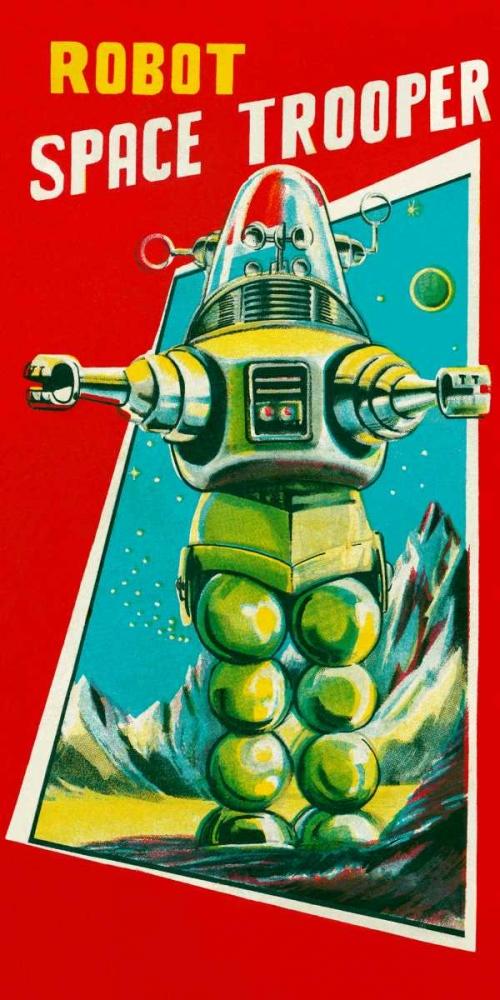 Robot Space Trooper Retrobot 96451