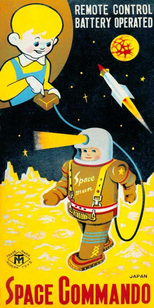 Space Commando Retrobot 96453