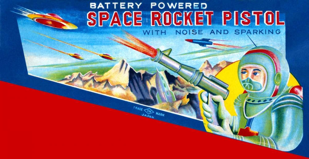 Space Rocket Pistol Retrobot 96454