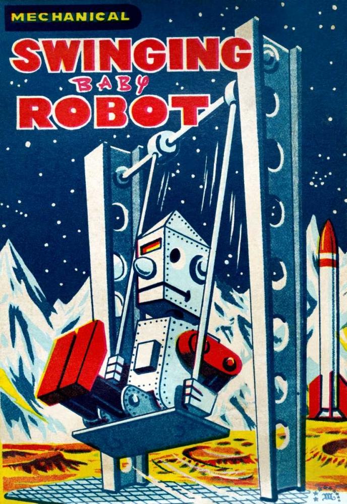 Swinging Baby Robot Retrobot 96457