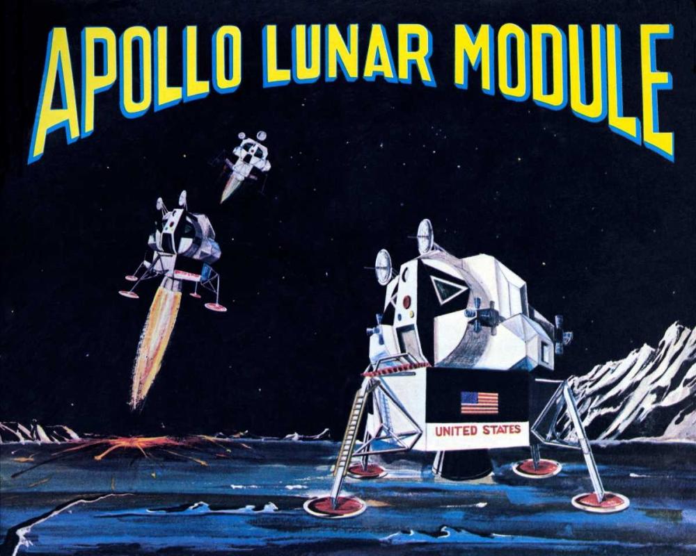 Apollo Lunar Module Retrobot 96467