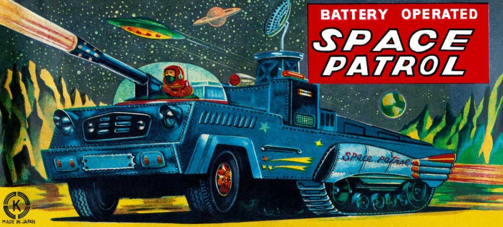 Space Patrol Retrobot 96472