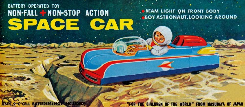 Space Car Retrobot 96473