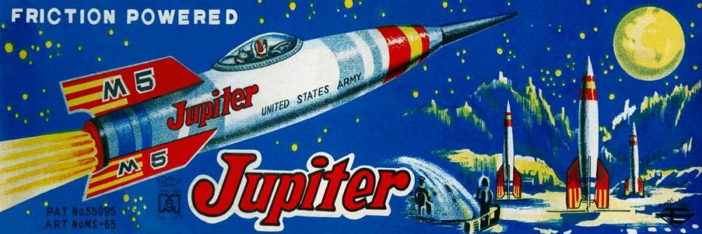 Friction Powered Jupiter M-5 Retrobot 96477