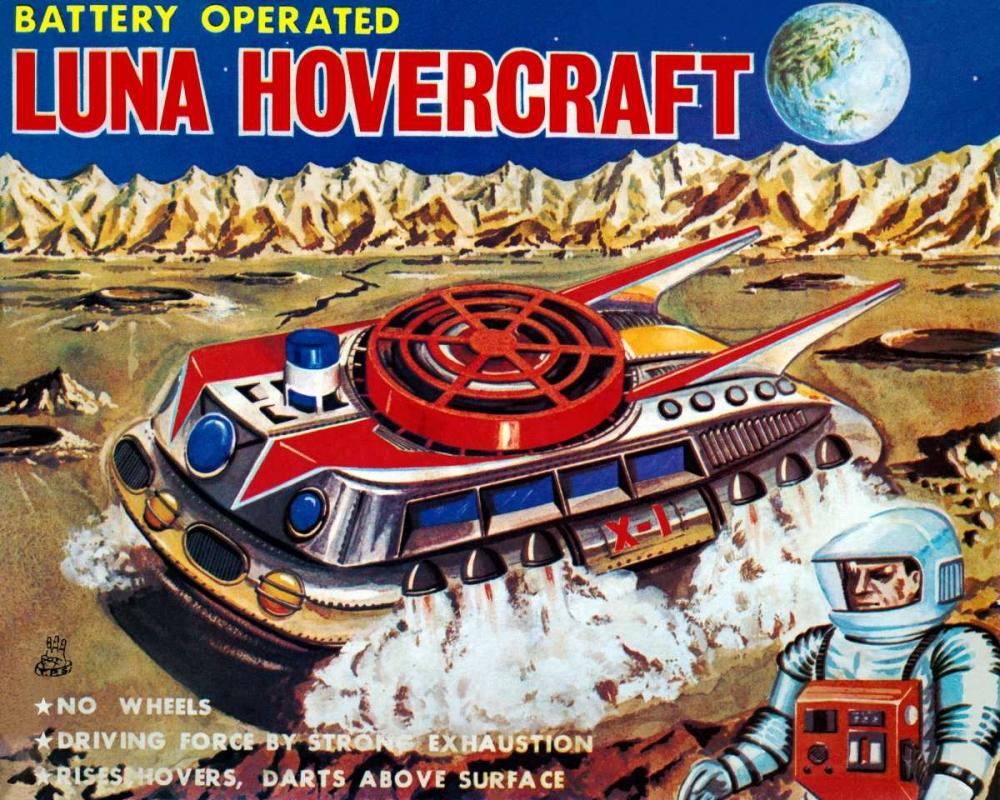 Luna Hovercraft Retrobot 96478