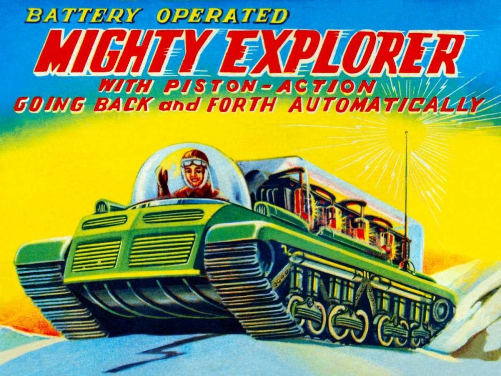 Mighty Explorer with Piston Action Retrobot 96481