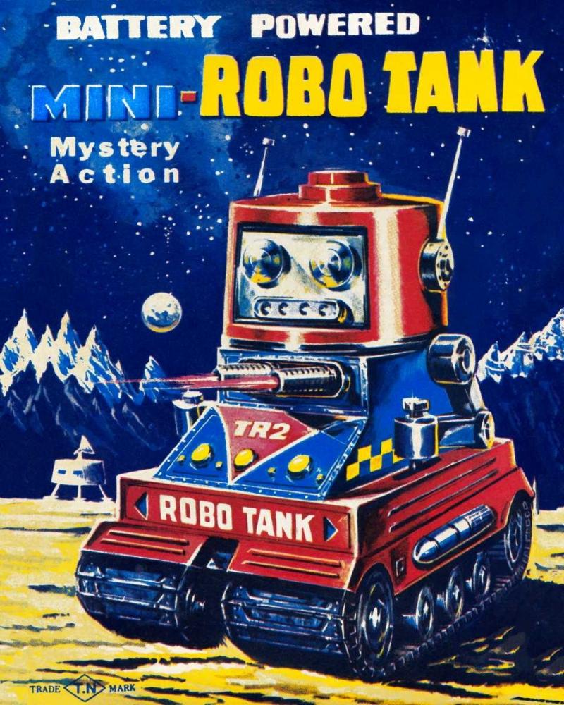 Mini-Robo Tank Retrobot 96482