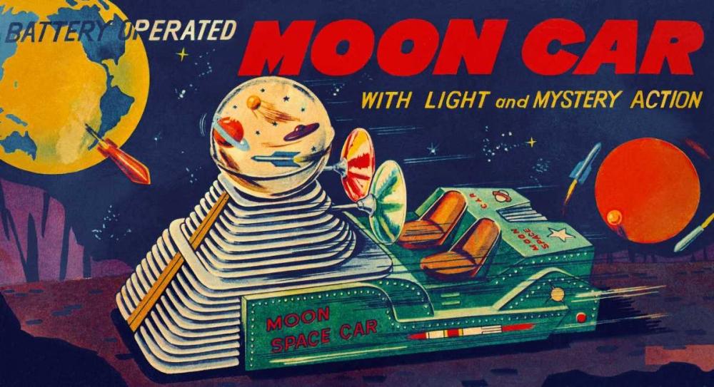 Moon Car Retrobot 96484