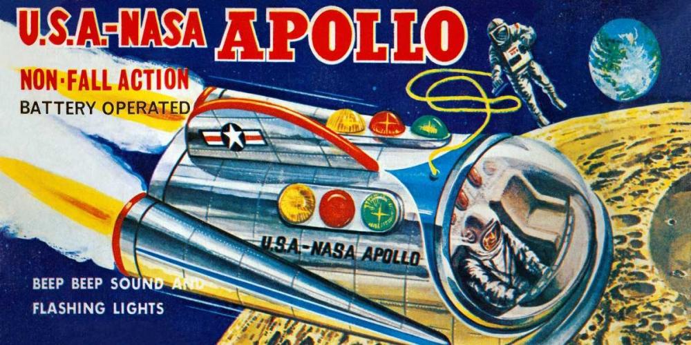 U.S.A. - NASA Apollo Retrobot 96485