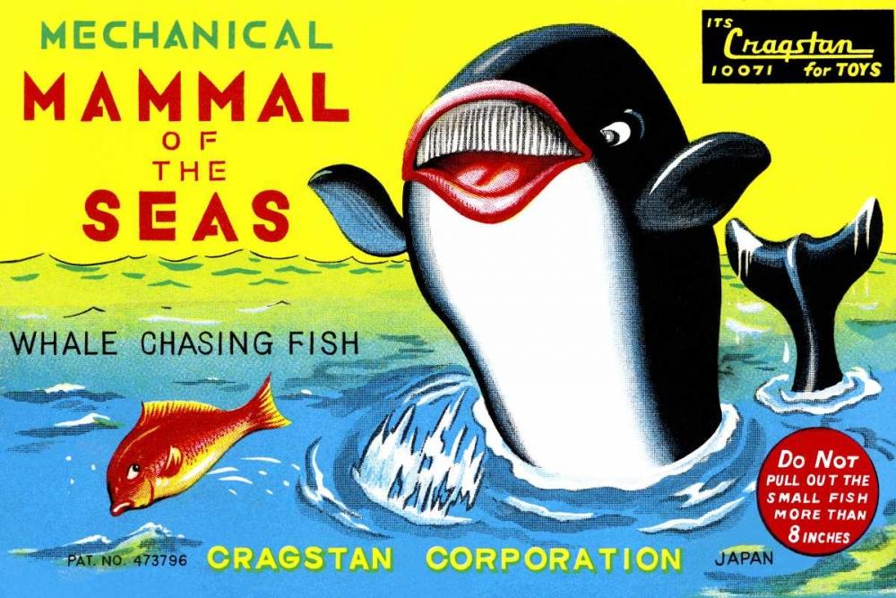 Mammal of the Seas: Whale Chasing Fish Retrobot 96490