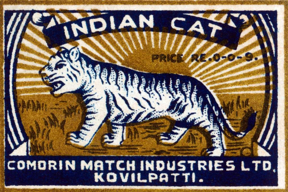 Indian Cat Phillumenart 96400