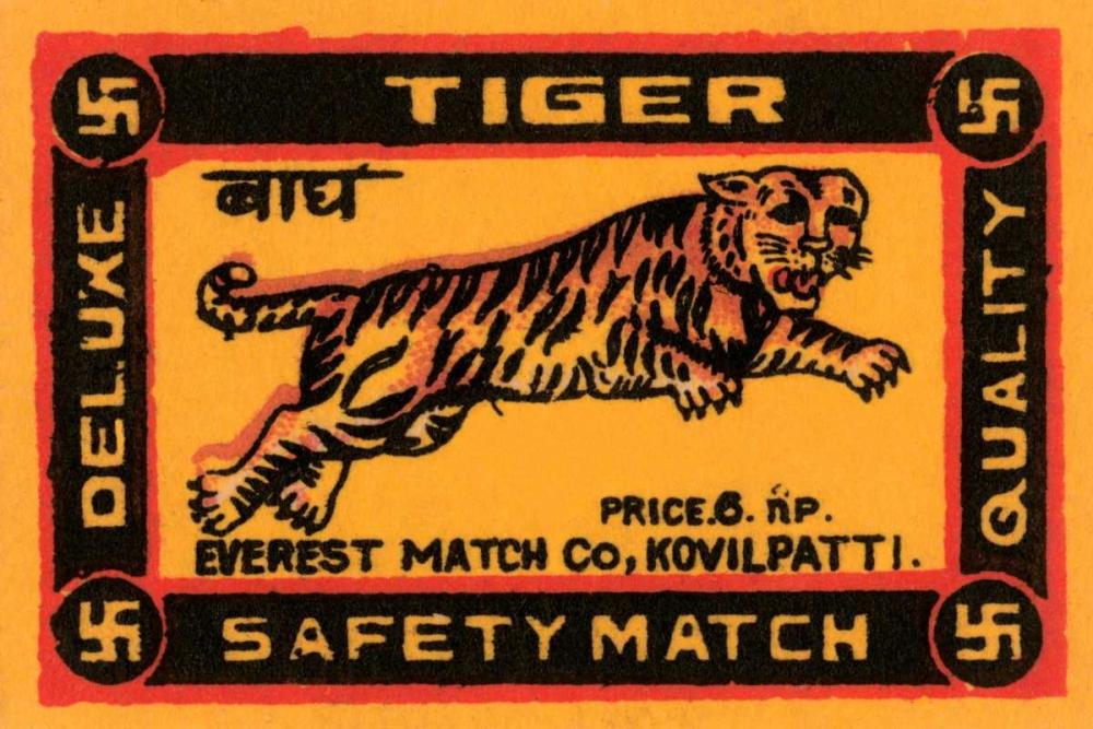 Tiger Safety Match Phillumenart 96404