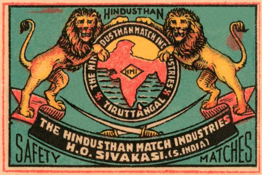 Hindusthan Safety Matches Phillumenart 96410