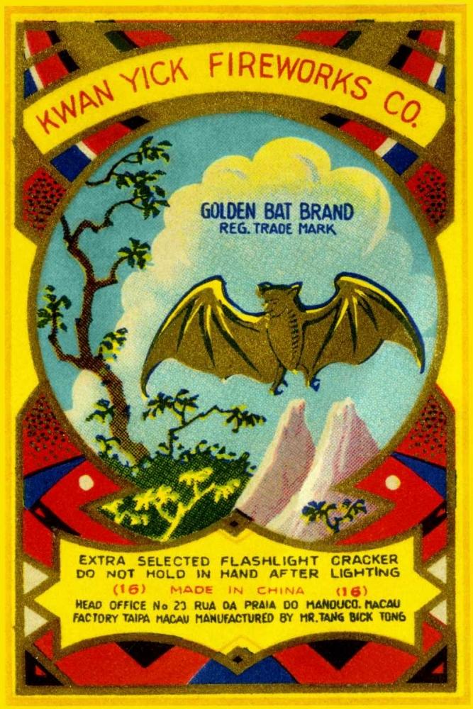 Golden Bat Firecrackers Unknown 96665