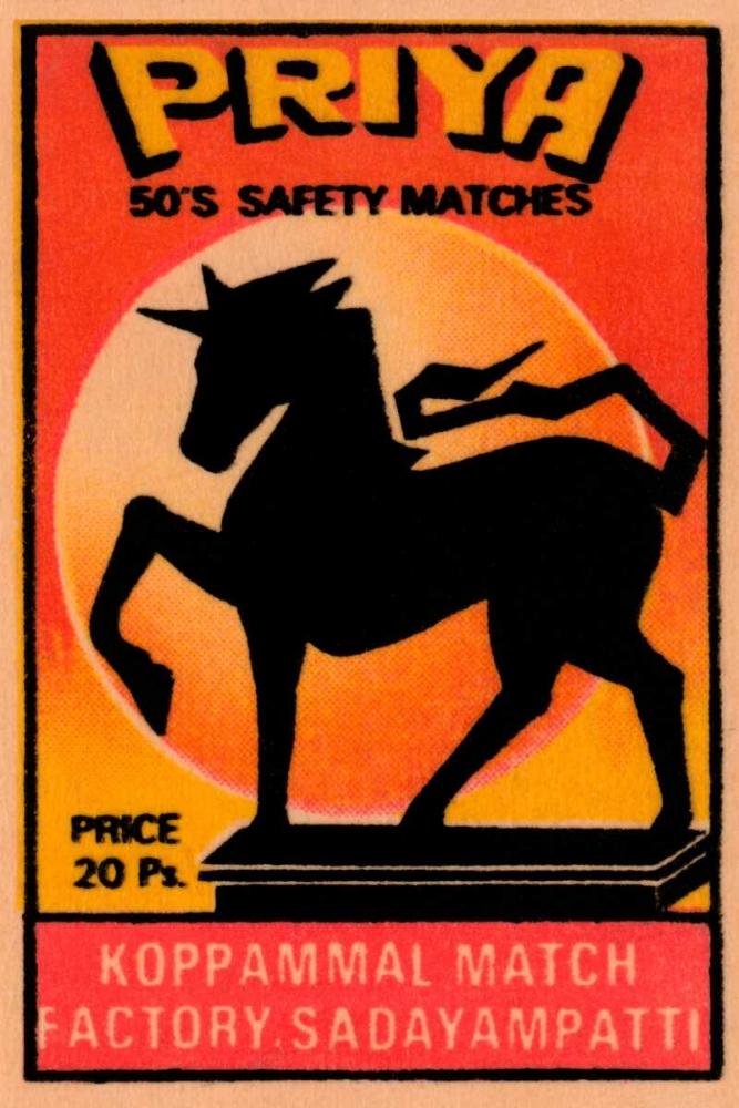 Priya 50s Safety Matches Phillumenart 96414