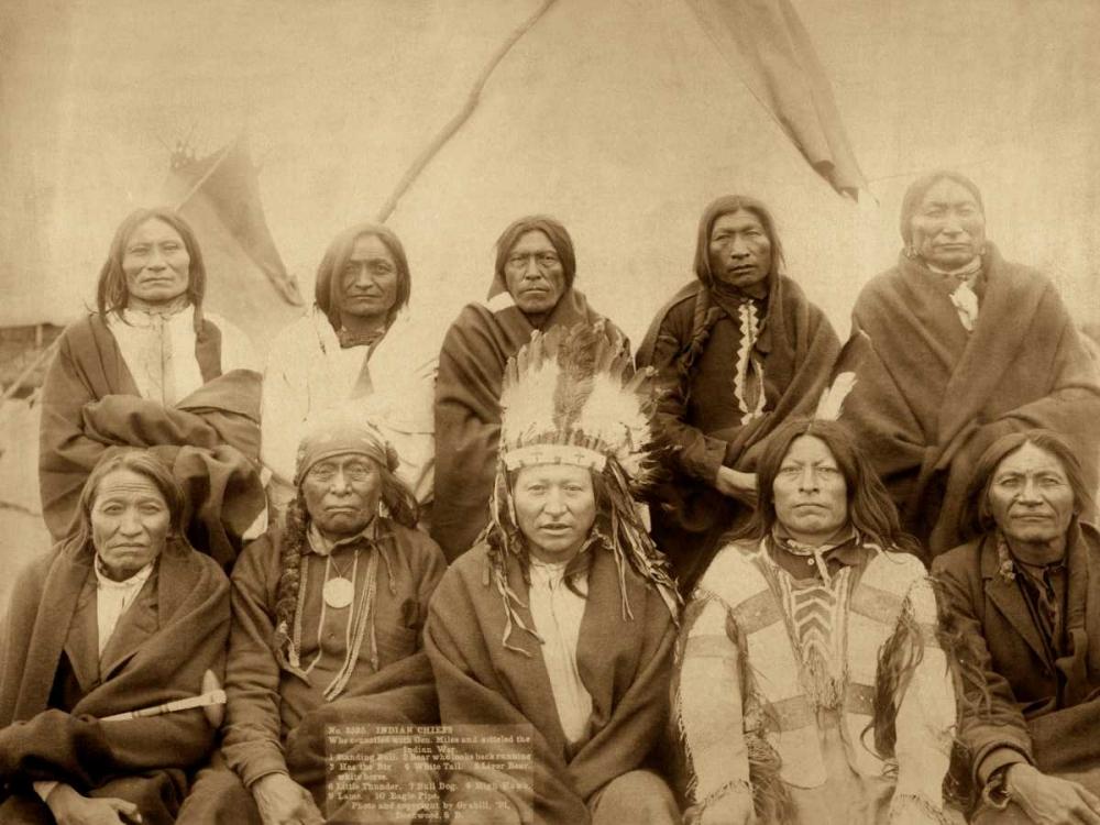 Lakota Chiefs Grabill, John C.H. 96309