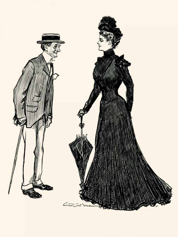 How Long Should I wear Mourning Gibson, Charles Dana 96050