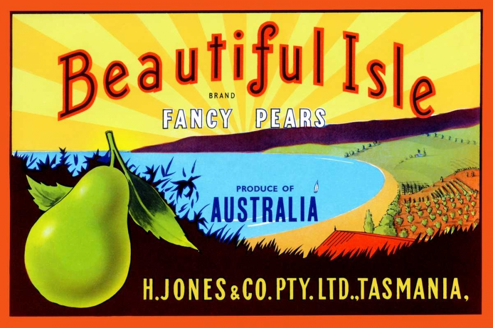 Beautiful Isle Brand Fancy Pears Unknown 96704