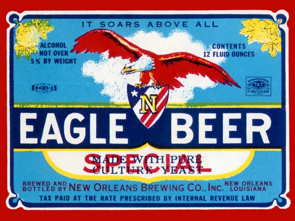 Eagle Beer Special Vintage Booze Labels 96796
