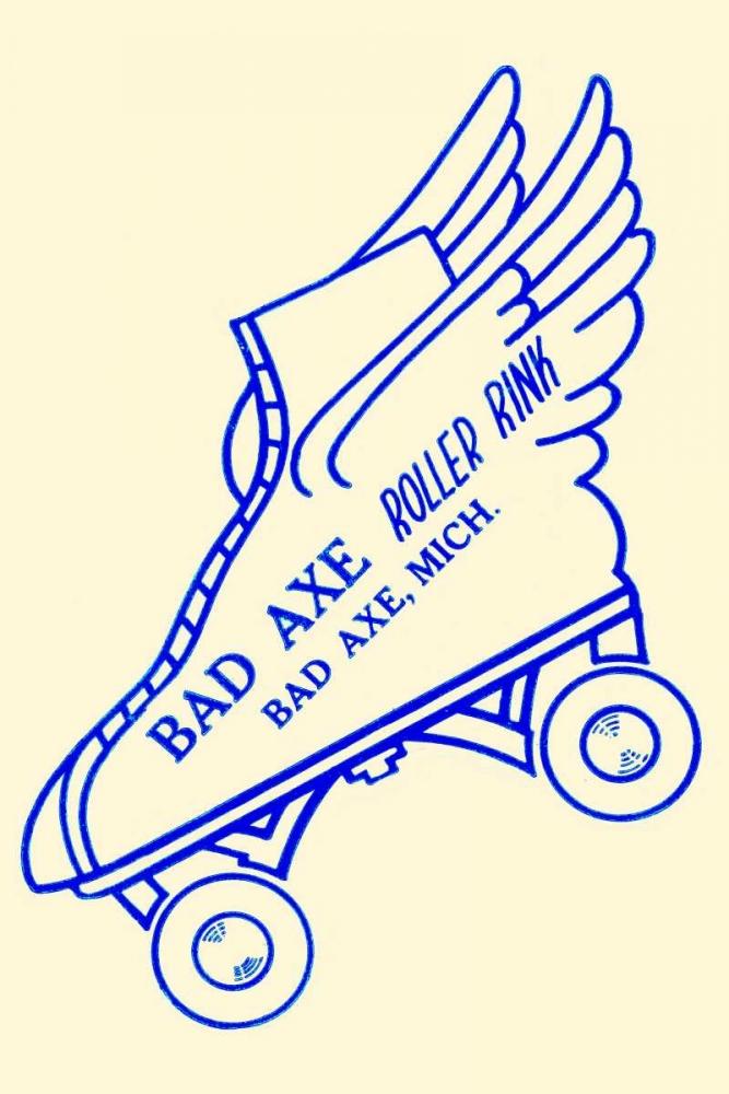 Bad Axe Roller Rink Retrorollers 96537