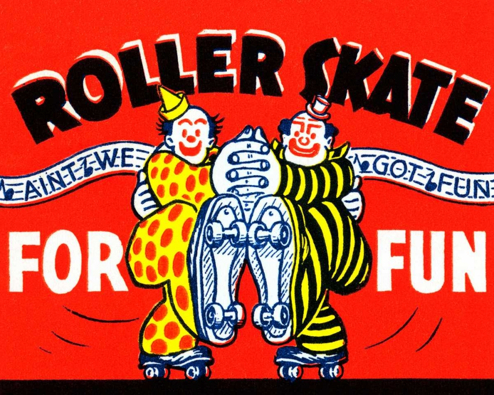 Roller Skate For Fun Retrorollers 96538