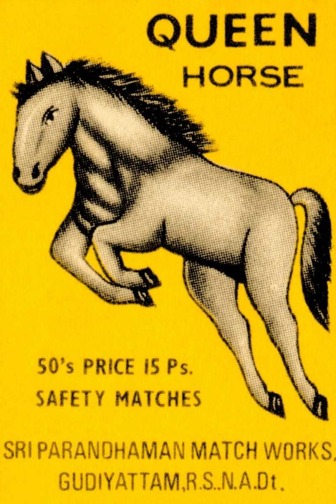 Queen Horse Matches Phillumenart 96418