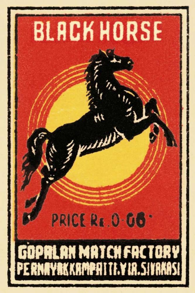 Black Horse Matches Phillumenart 96436