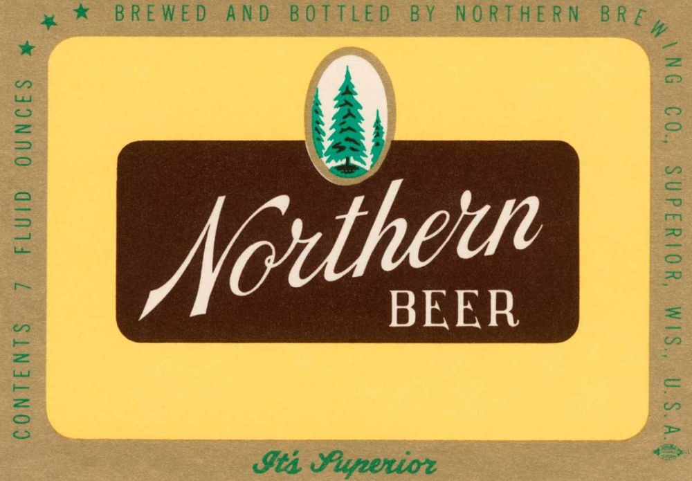 Northern Beer Vintage Booze Labels 96855