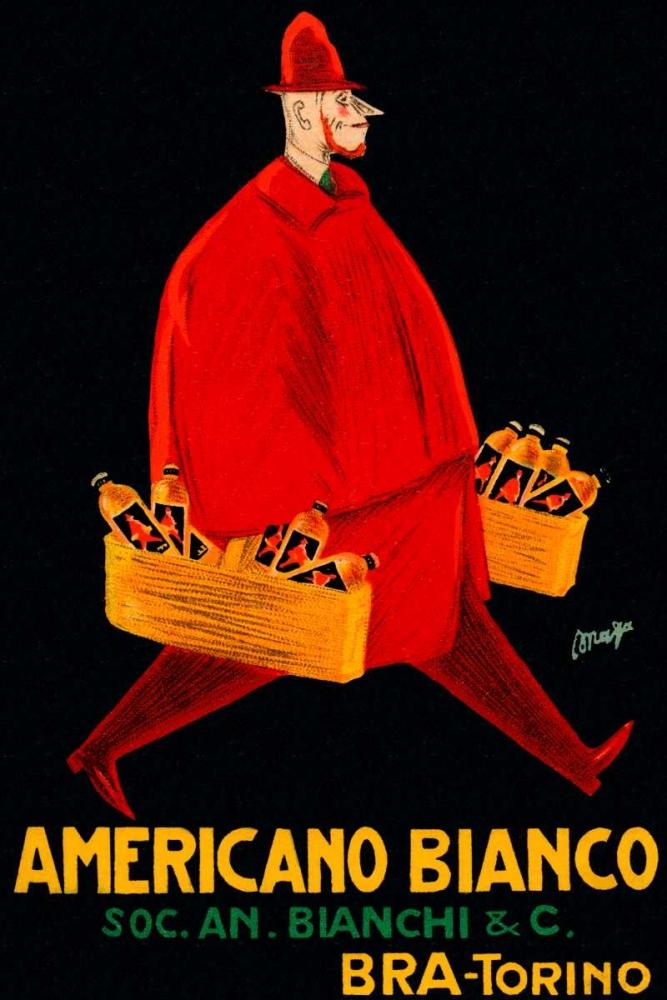Americano Bianco Vintage Booze Labels 96868