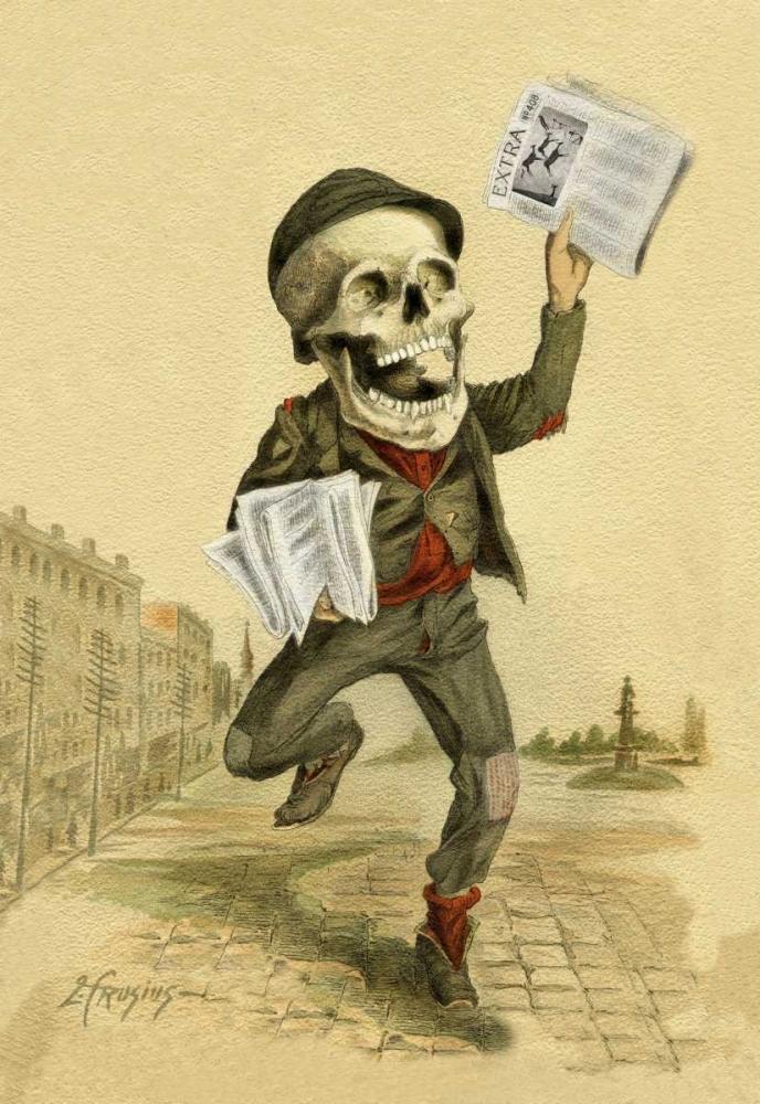 Death Brings the News Frusius 96184