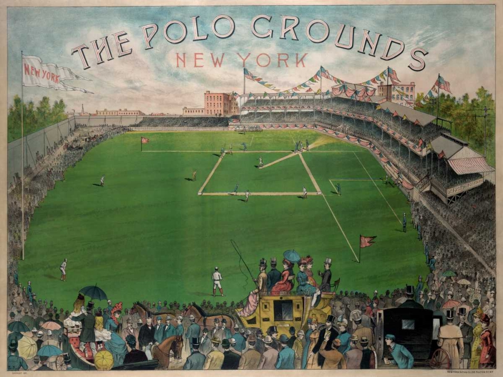 New York Polo Grounds Vintage Sports 97097