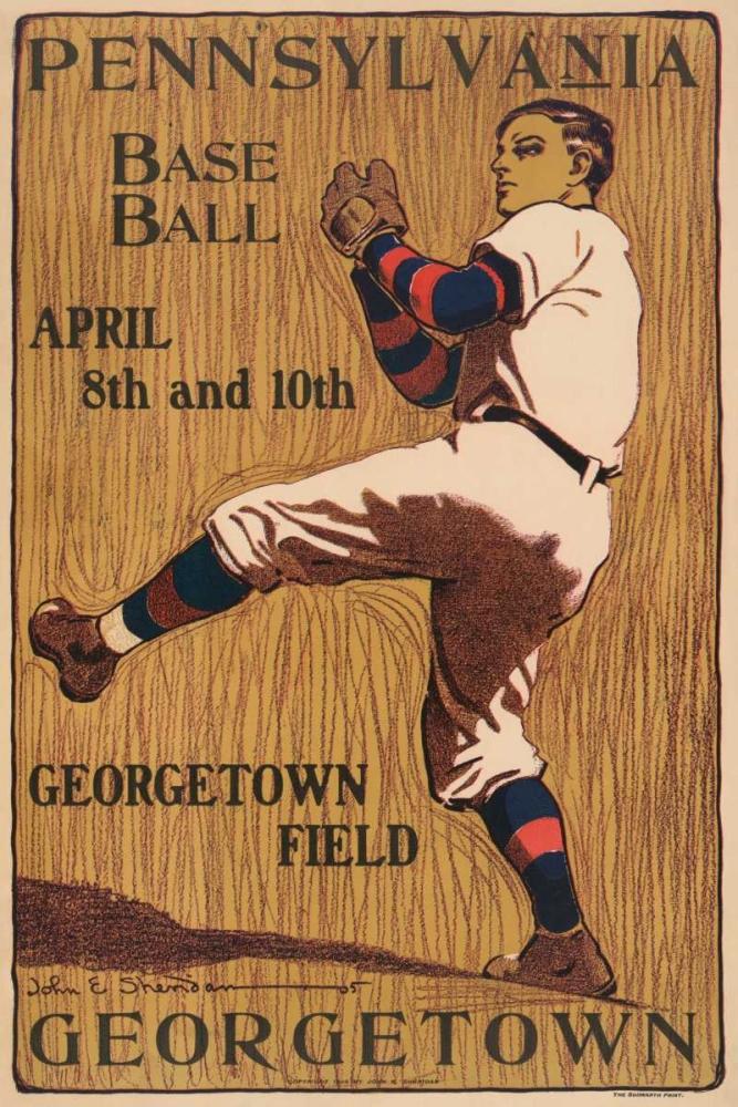Pennsylvania Baseball - Georgetown Field Vintage Sports 97118