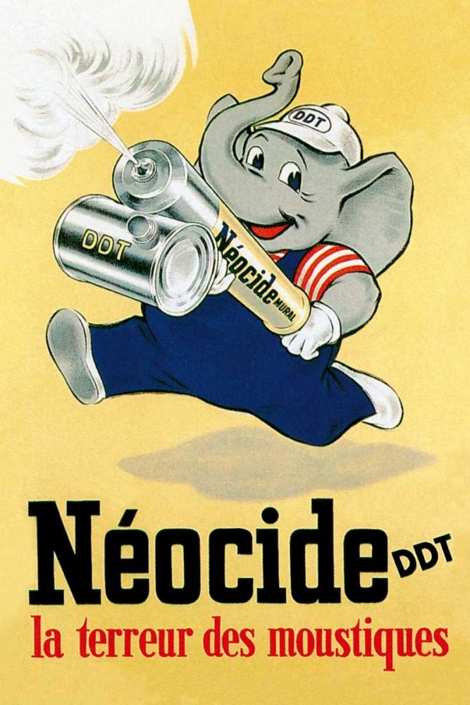 Neocide DDT - La Terreur des Moustiques Vintage Elephant 96892