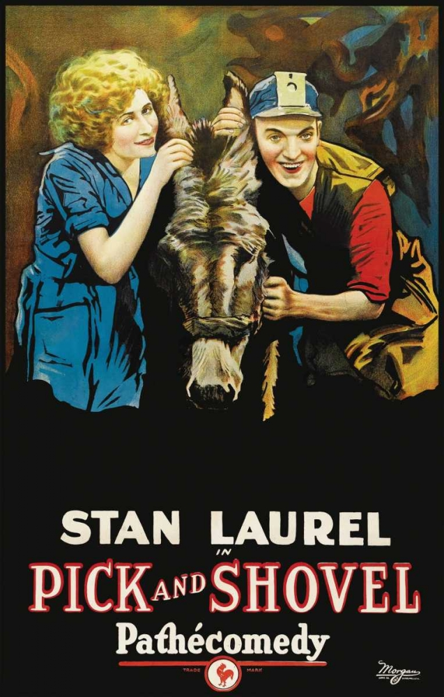 Movie Poster: Stan Laurel in Pick and Shovel Pathecomdey 96354