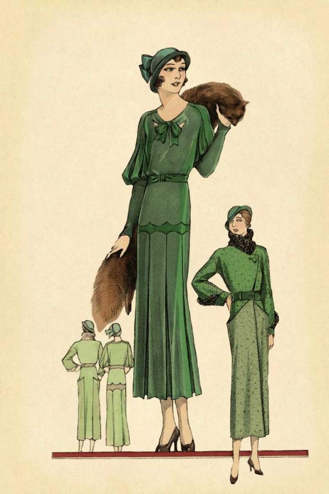 Modeles Originaur: Emerald Style Vintage Fashion 96954