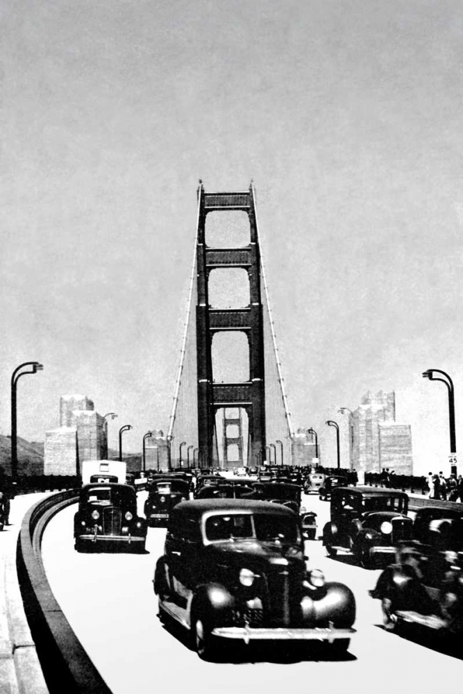 The Golden Gate Bridge, San Francisco, CA Vintage San Francisco 97079