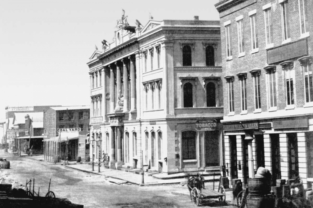 Merchants  Exchange, San Francisco, CA Vintage San Francisco 97089