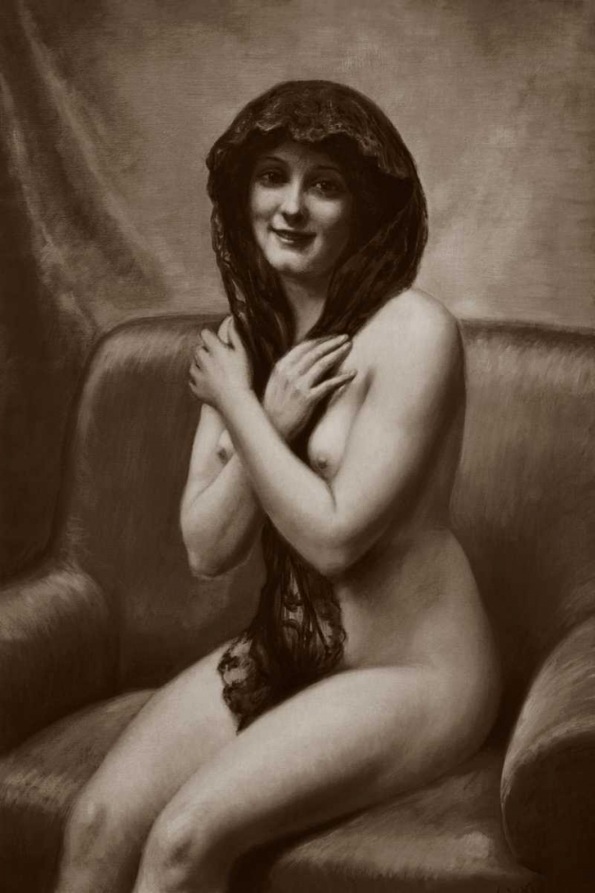 The Mantilla Vintage Nudes 97056