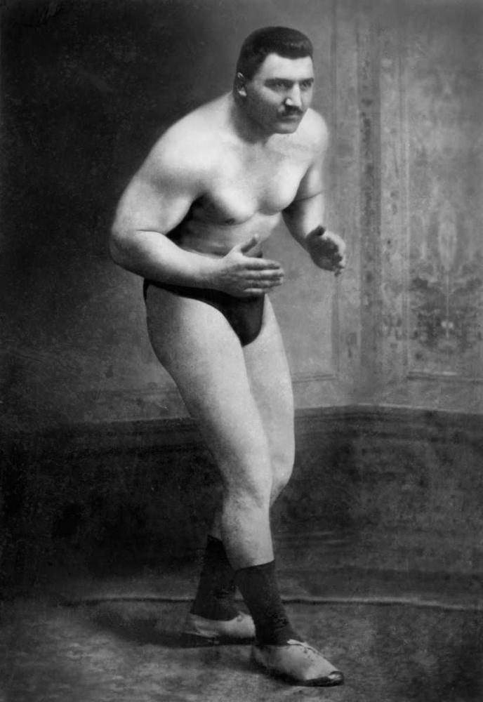 Ready to Wrestle Vintage Wrestler 97126