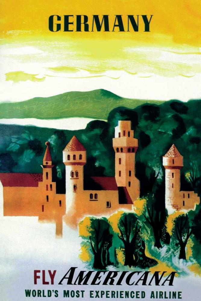 German Castle Unknown 96721