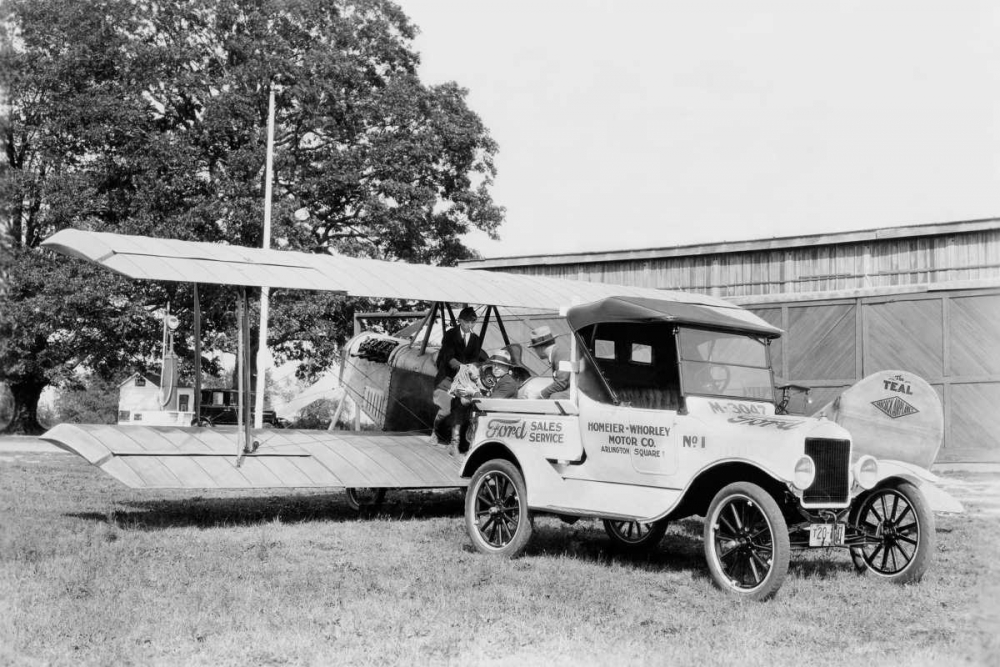 Ford Towing Plane Unknown 96729
