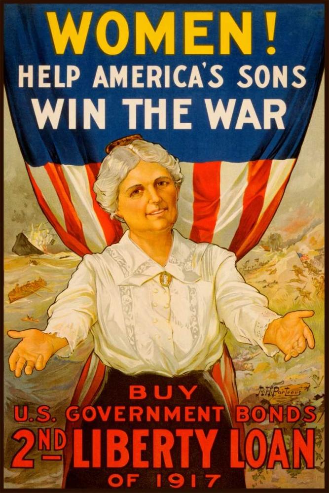 Women! Help Americas Sons Win the War Unknown 96735