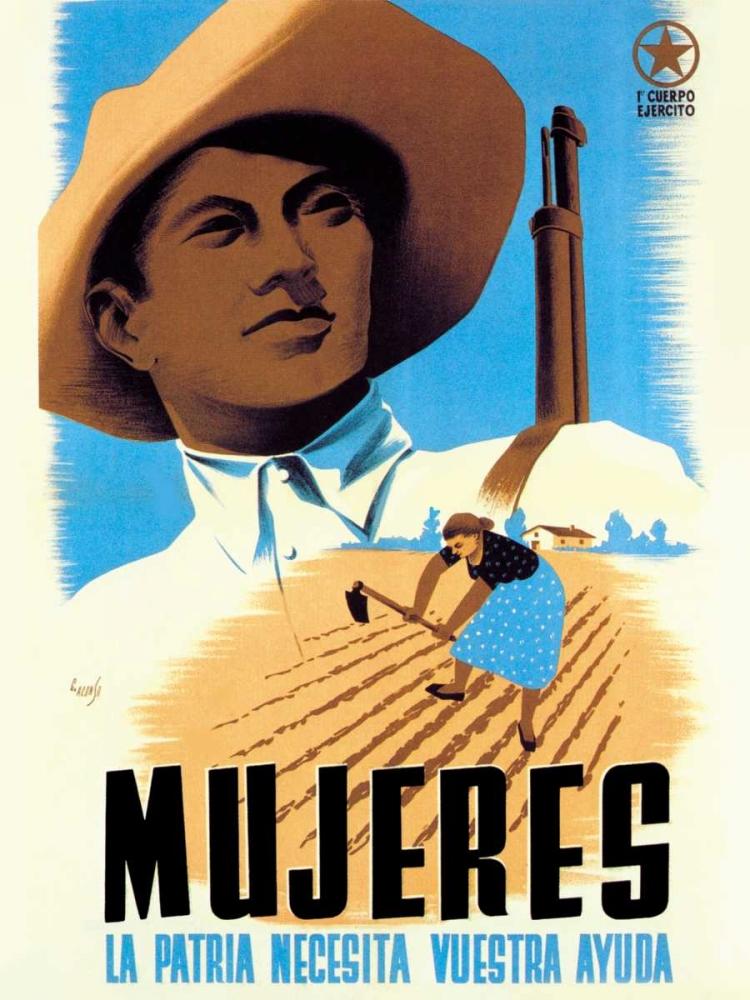 Mujeres La Patria Necesita Vuestra Ayuda Unknown 96738