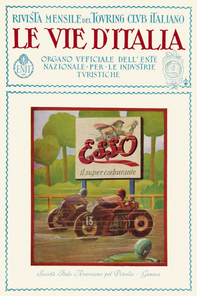 Esso - The Road of Italy Unknown 96750