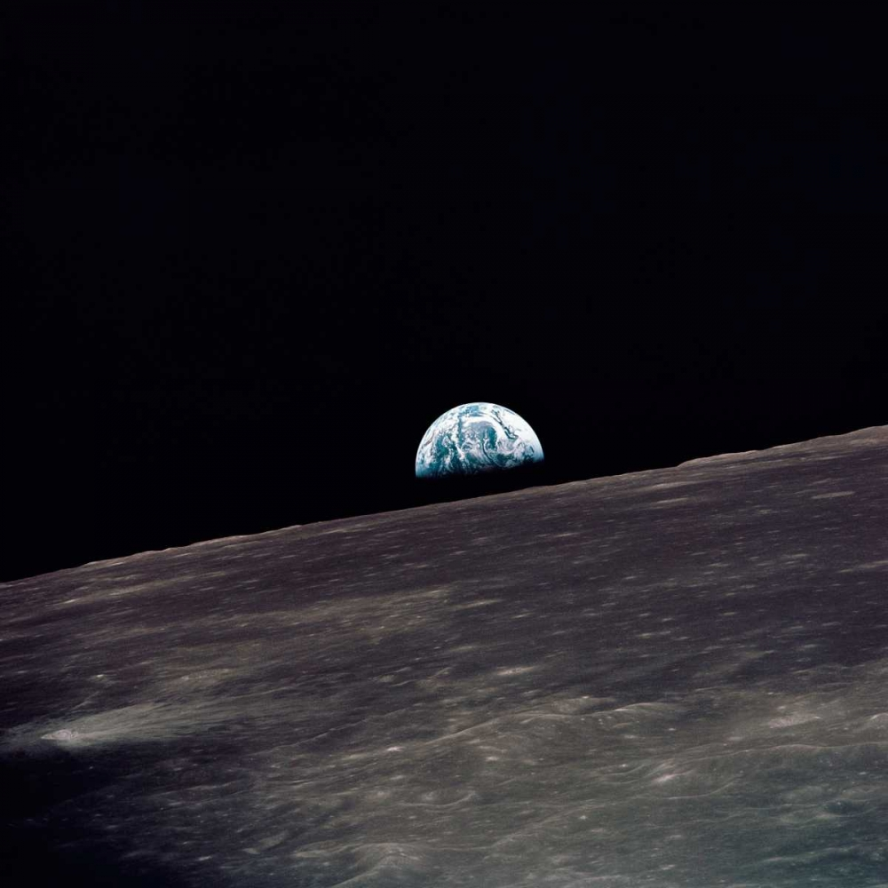 Earthrise, viewed from Apollo 10, 1969 NASA 93043